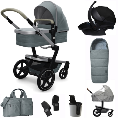 JOOLZ Day+ Kinderwagen Premium Set, Gentle Blue (inkl. Versicherung)