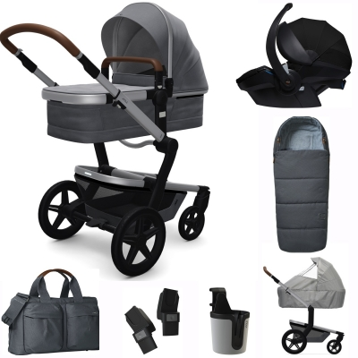 JOOLZ Day+ Kinderwagen Premium Set, Gorgeous Grey (inkl. Versicherung)