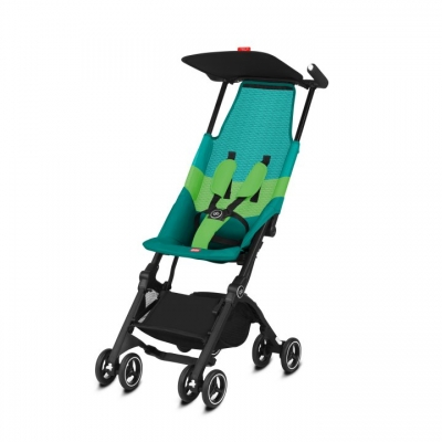 gb Goodbaby Pockit Air All Terrain Reisebuggy, Laguna Blue