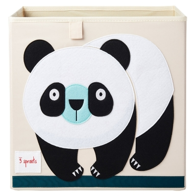 3 Sprouts Aufbewahrungsbox, Panda