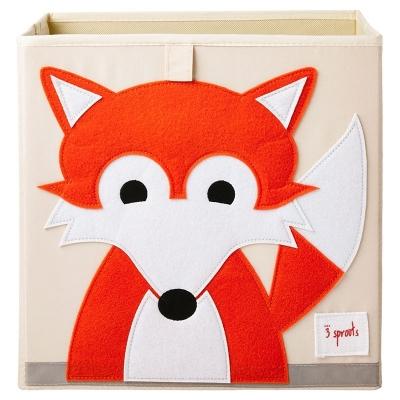 3 Sprouts Aufbewahrungsbox, Fuchs