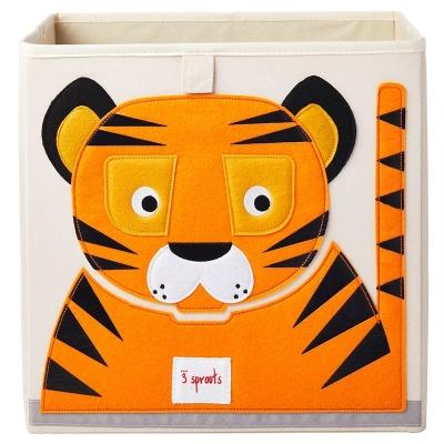 3 Sprouts Aufbewahrungsbox, Tiger