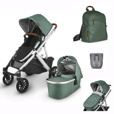 Uppababy Vista v2 3KH Set Plus, Emmett