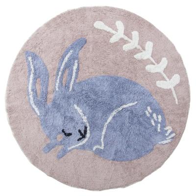 Sebra Teppich, Bluebell das Kaninchen