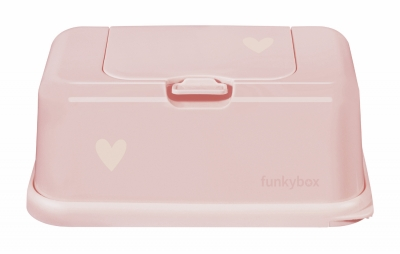 FunkyBox Feuchttücher Box, Baby Pink Little Star
