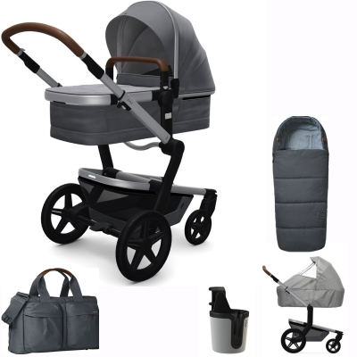 JOOLZ Day+ Kinderwagen #3KHSetPlus, Gorgeous Grey