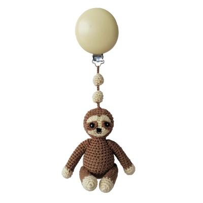 NatureZoo of Denmark Kinderwagen-Spielzeug, Mocca Brown Sloth