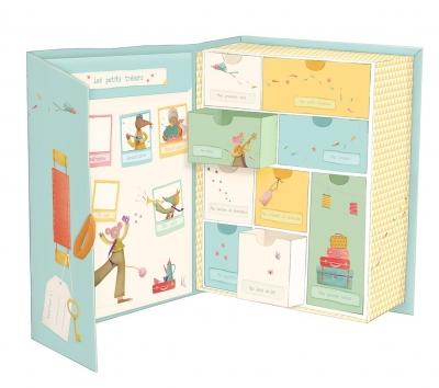 Moulin Roty Baby Erinnerungsbox, Les Tartempois (Französische Version)