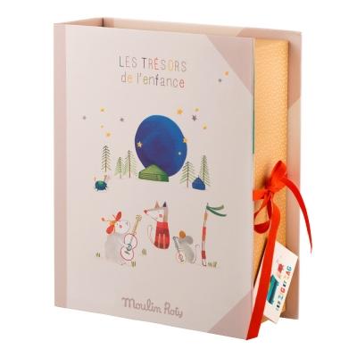 Moulin Roty Baby Erinnerungsbox, Les Zig et Zag (Französische Version)
