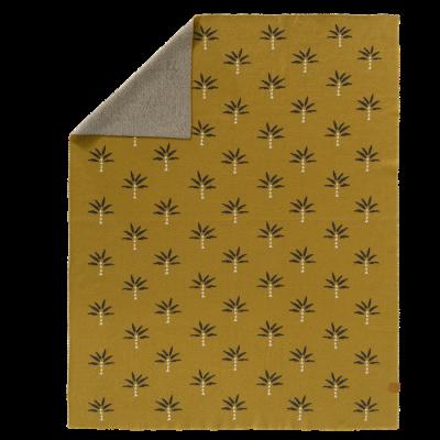 Fresk fein gestrickte Decke 80x100 - Palmtree