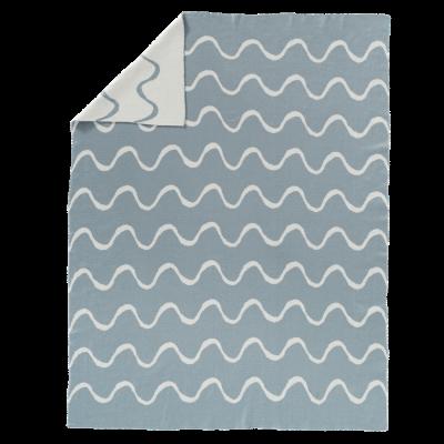 Fresk fein gestrickte Decke 80x100 - Waves