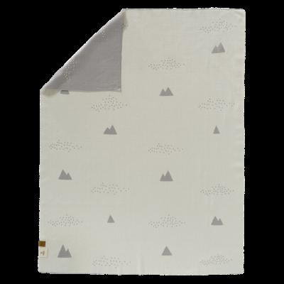 Fresk fein gestrickte Decke 80x100 - Ice Mountain