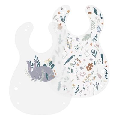 Sebra Kunststoff Lätzchen, 2er Pack, Daydream