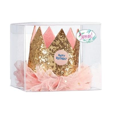 Souza for Kids Geburtstagskrone, rosa