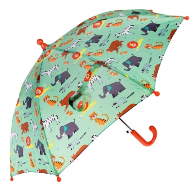 Rex London Kinder Regenschirm, Animal Park
