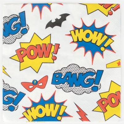 My Little Day Papierservietten, Super Heroes - 20 Stk.