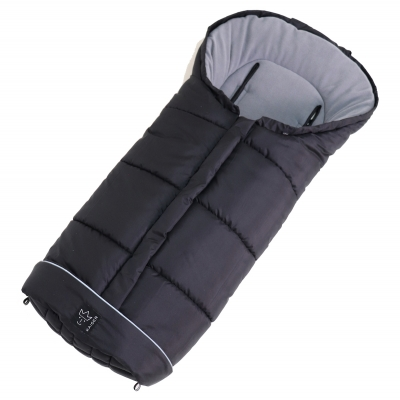 Kaiser Baby Thermofusssack POOLY, Schwarz