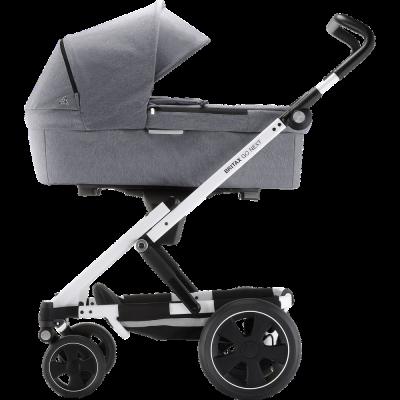 Britax Römer GO Kinderwagen, Grau - Ausstellungststück (ohne Sitzeinheit)