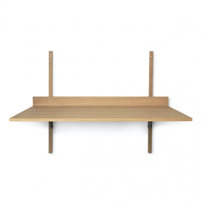 Ferm Living Sector-Tisch, Eiche - Black Brass
