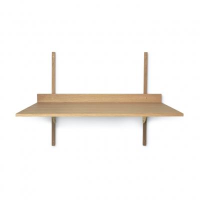 Ferm Living Sector-Tisch, Eiche - Brass
