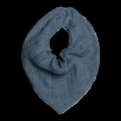 Fabelab Bandana Bib Dreieckstuch, Blue Spruce
