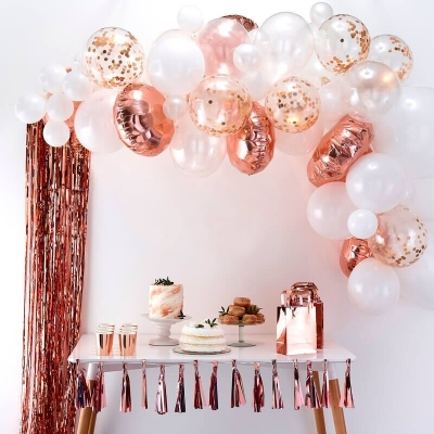 Ginger Ray Ballonbogen, Rose-Gold