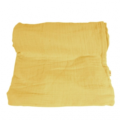 Muslin Swaddle Mulltuch, Mustard