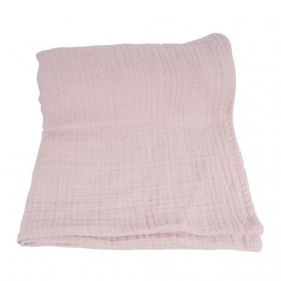 Mulltuch 80 x 80 cm, Rosé