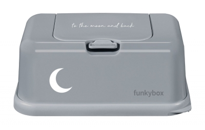 FunkyBox Feuchttücher Box, to the moon