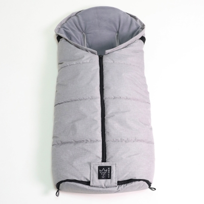 Kaiser Fusssack Thermo Jooshi, Light Grey Melange