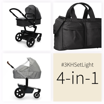 JOOLZ Day+ Kinderwagen #3KHSetLight 4-in1, Awesome Anthracite