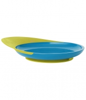 Boon Catch Plate, grün+blau