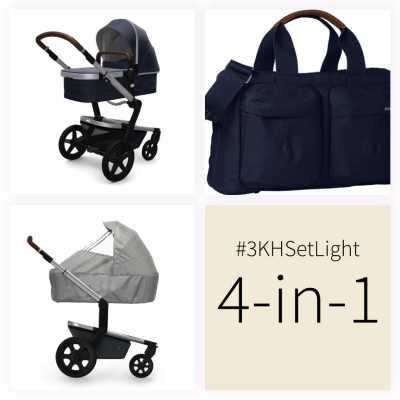 JOOLZ Day+ Kinderwagen #3KHSetLight 4in1, Classic Blue