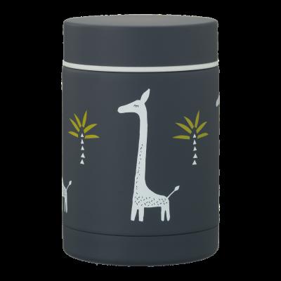 Fresk Thermos Behälter Giraffe