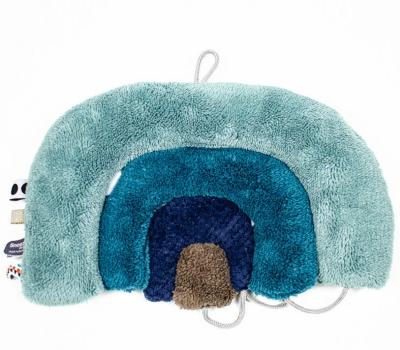 Snoozebaby Kuschelpuzzle Regenbogen, blau