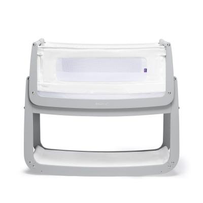 Snüz Pod4 Beistellbett mit 3D-Matratze, Dove