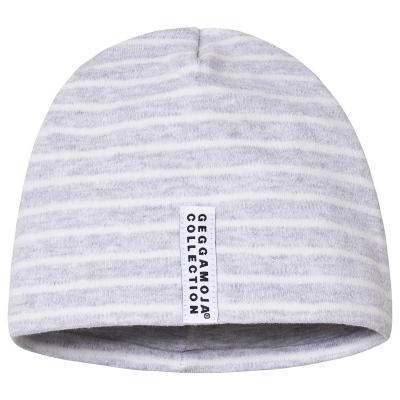 Geggamoja Mütze, Grey Stripe