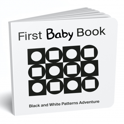 Mascot Books First Baby Book by Caity Werner