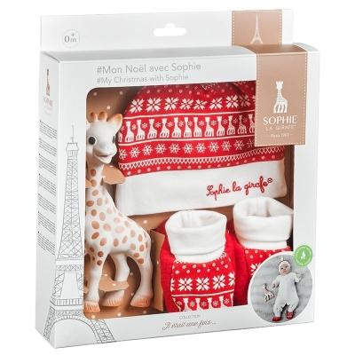 Geschenkset Mein Weihnachten mit Sophie La Giraffe