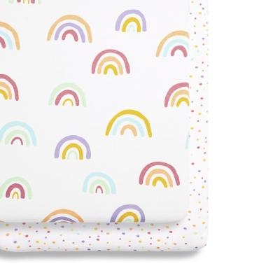 Snüz Fixleintuch für SnüzPod, Colour Rainbow