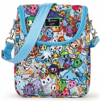 JuJuBe x Tokidoki Be Cool isolierte Lunchtasche, Sea Amo 2.0