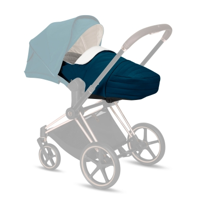 Cybex Lite Cot Cocoon, Mountain Blue