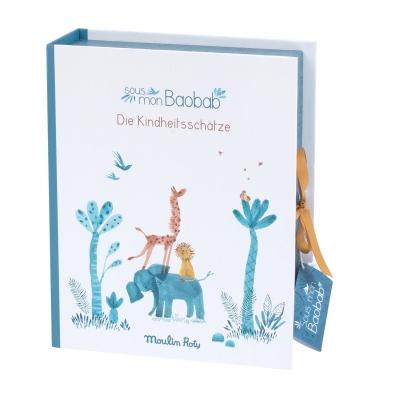 Moulin Roty Baby Erinnerungsbox, sous mon baobab (Deutsche Version)
