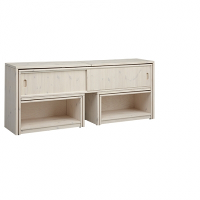 Lifetime Kidsrooms Regalmodul Play & Store, White Wash