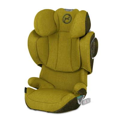 Cybex Solution Z i-Fix Kindersitz Plus, Mustard Yelllow
