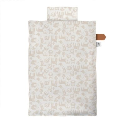 Sebra Bettwäsche Junior, Forest straw beige