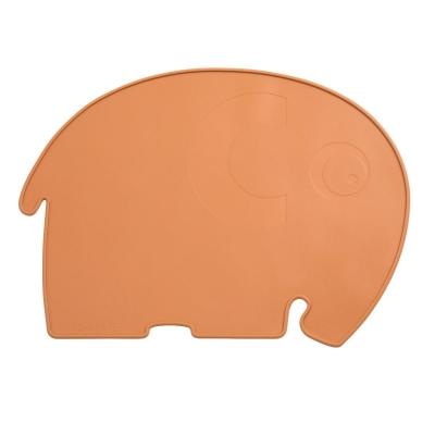 Sebra Silikon Platzdeckchen, Fanto der Elefant, toasted orange