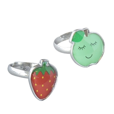 Global Affair Ringe Apfel & Erdbeere
