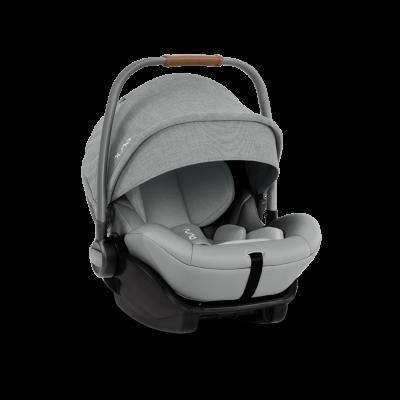 Nuna ARRA i-Size Babyschale mit Liegeposition (inkl Basis), Frost