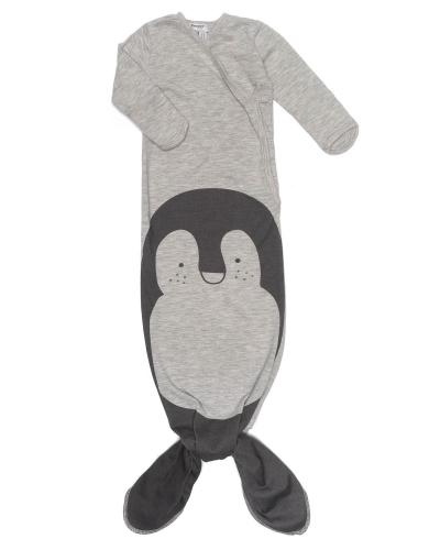 Snoozebaby Schlafbody Cocon, 3-6 Mon., TOG 1.0 - Melange Pinguin
